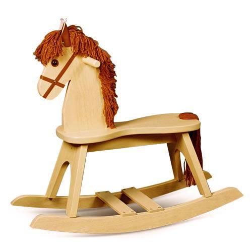 Storkcraft PlayTyme Child's Rocking Horse in Natural