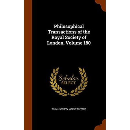 Philosophical Transactions of the Royal Society of London, Volume 180 - image 1 of 1