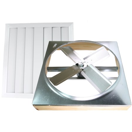 Ventamatic, Ltd. 24-inch Direct Drive Whole House Fan
