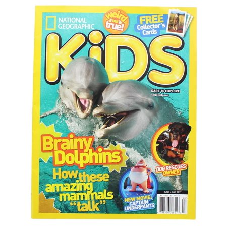 National Geographic Brainy Dolphins June & July 2017 Kids