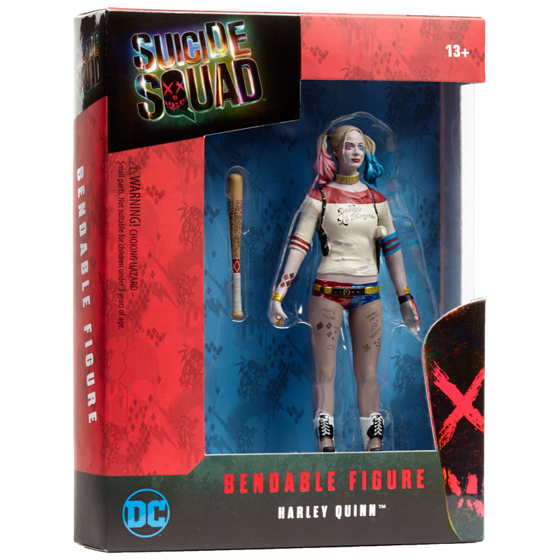 Harley Quinn Bendable, Suicide Squad by NJ Croce