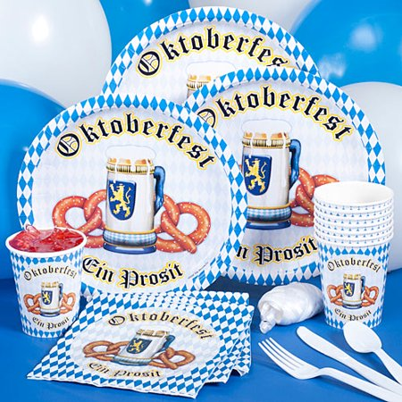Oktoberfest Basic Party Pack For 8 for $<!---->