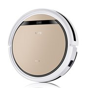 ILIFE V5s Pro 2-in-1 Vacuuming & Mopping Robot Vacuum, White and Gold