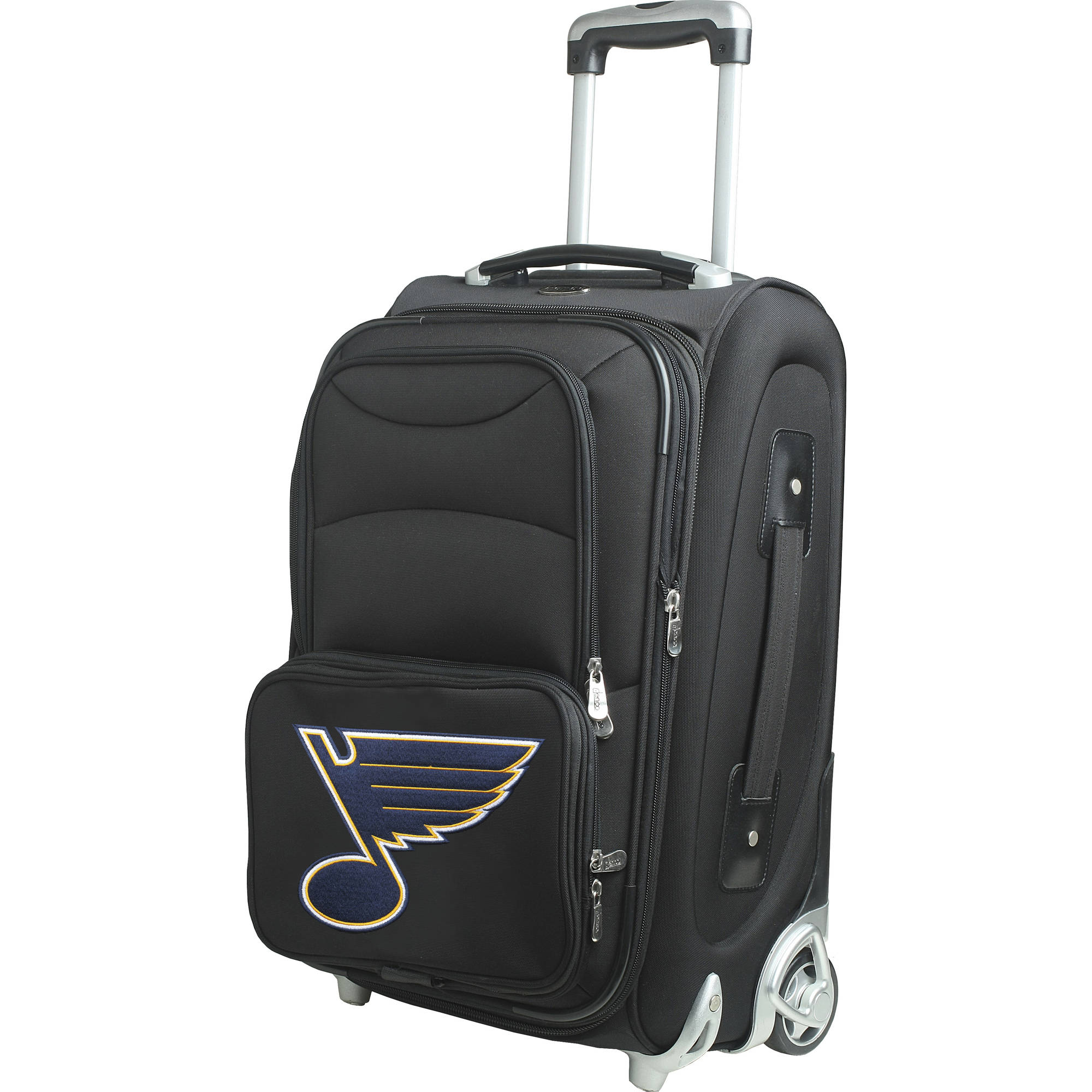 """St. Louis Blues 21"""" Rolling Carry-On Suitcase No Size by Mojo Licensing"""