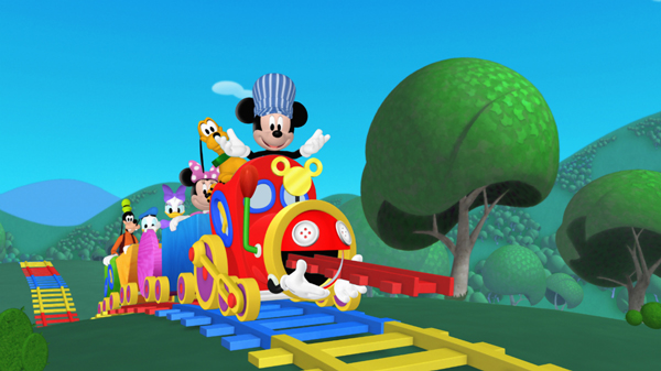 Mickey mouse clubhouse choo express part