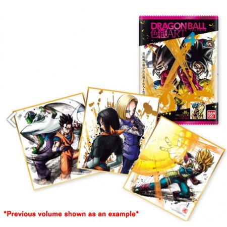 DBZ Dragonball Card Game: Volume 5 Bandai Shikishi Art (10ct)](Tien Dbz)