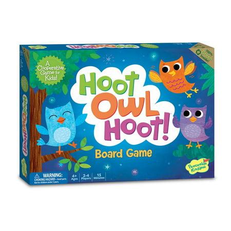 Hoot Owl Hoot Award Winning Cooperative Matching Game for Kids, Hoot Owl Hoot is the award winning color-coded cooperative matching game with two.., By Peaceable Kingdom](Award Winning Games)