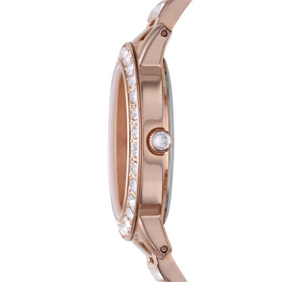 Fossil Women S Jesse Rose Gold Tone Stainless Steel Watch Style Es3020
