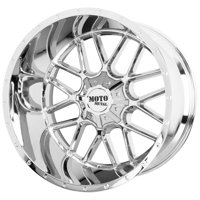 "Moto Metal MO986 Siege 22x10 5x5""/5x5.5"" -18mm Chrome Wheel Rim 22"" Inch"