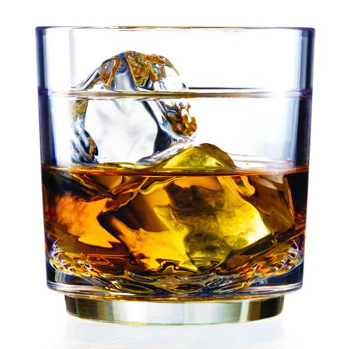 Drinique  Elite 10-ounce Rocks Glass (Set of 4) made with Tritan