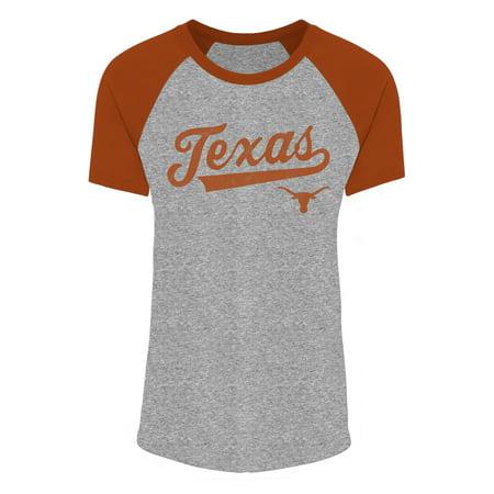 Womens Gray Texas Orange Longhorns Sharon T Shirt
