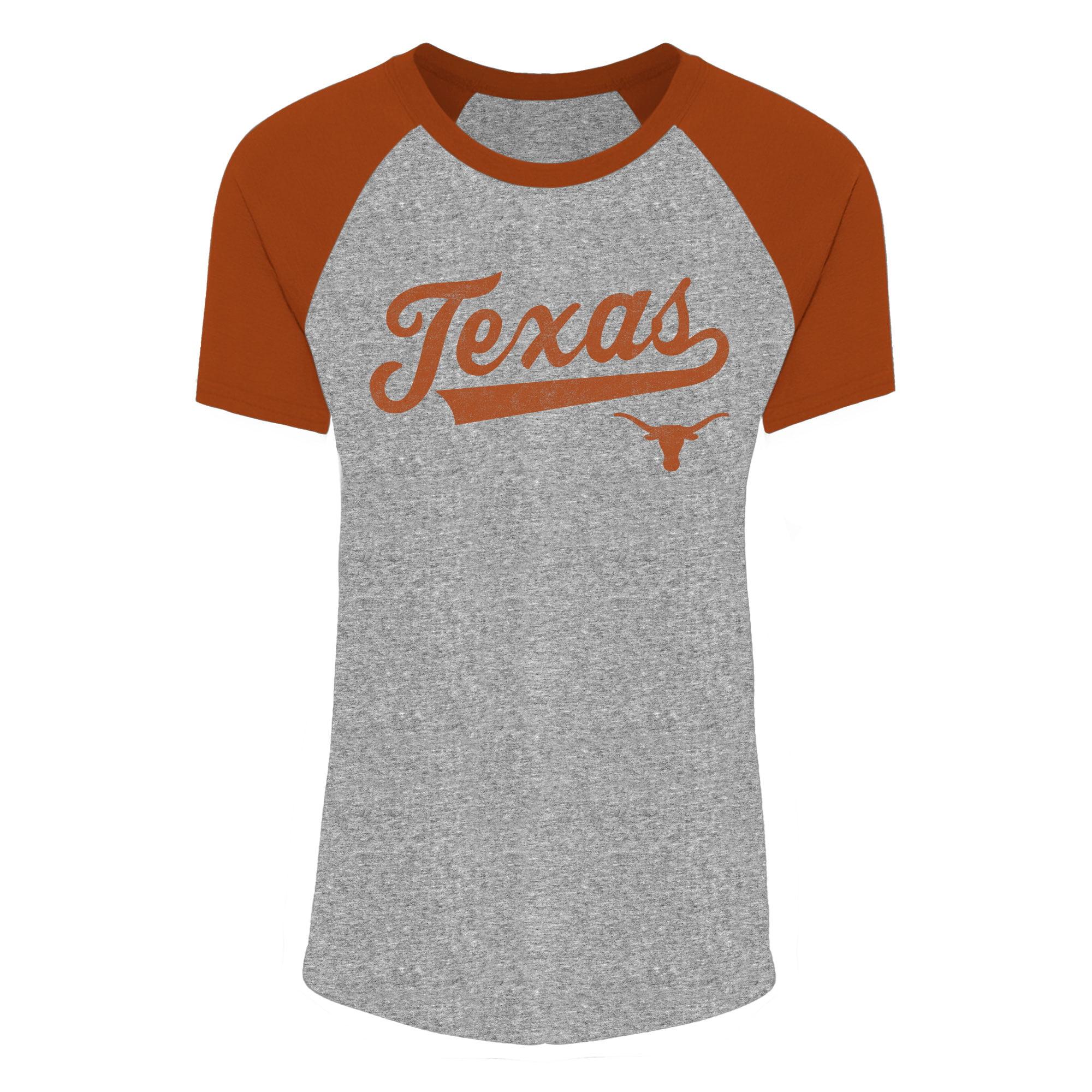 Women's Gray/Texas Orange Texas Longhorns Sharon T-Shirt