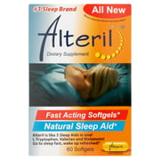 Alteril Natural Sleeping Aid Softgels, 60 ct