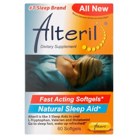 - Alteril Natural Sleeping Aid Softgels, 60 ct