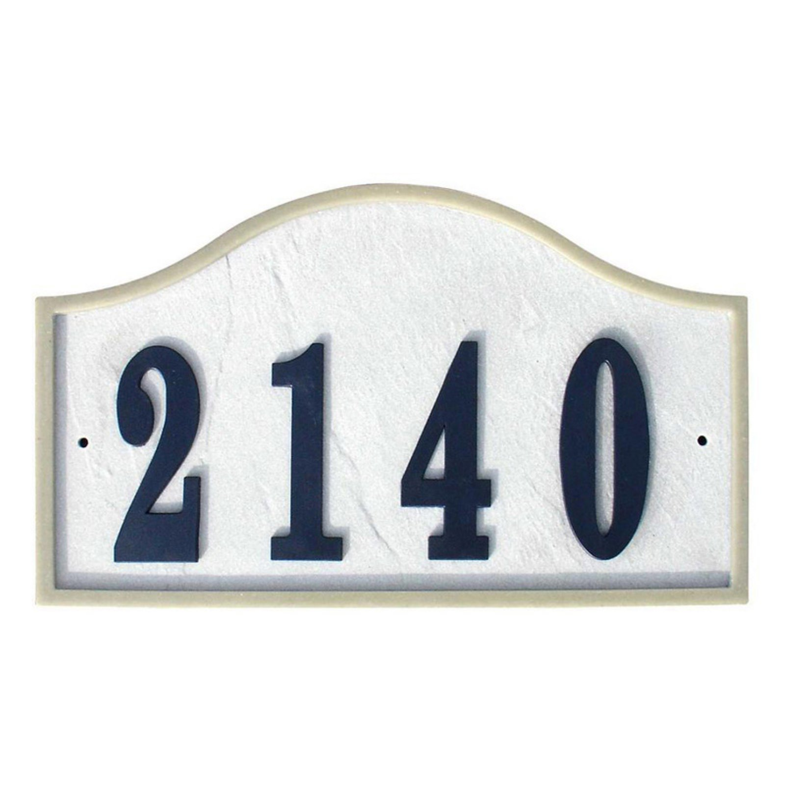 QualArc Ridgestone DIY Serpentine Stone Address Plaque by Qualarc, Inc.
