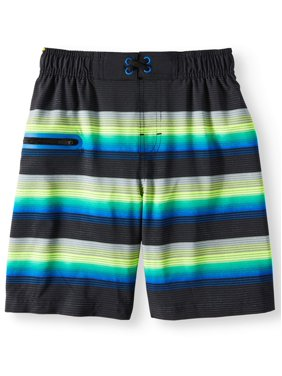 Wonder Nation Fashion Swim Trunk (Little Boys & Big Boys)