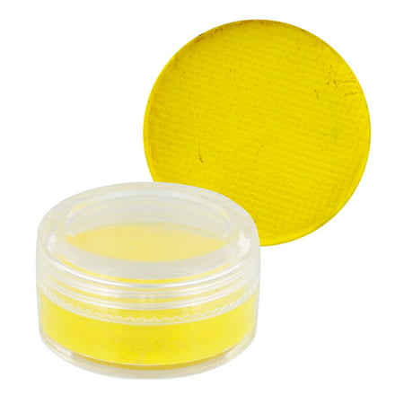 Custom Body Art 10ml Yellow FACE PAINT Painting Makeup](Zebra Face Painting For Halloween)