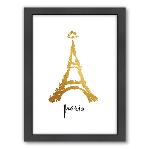 Americanflat City of Light by Khristian Howell Textual Art on Wrapped Canvas