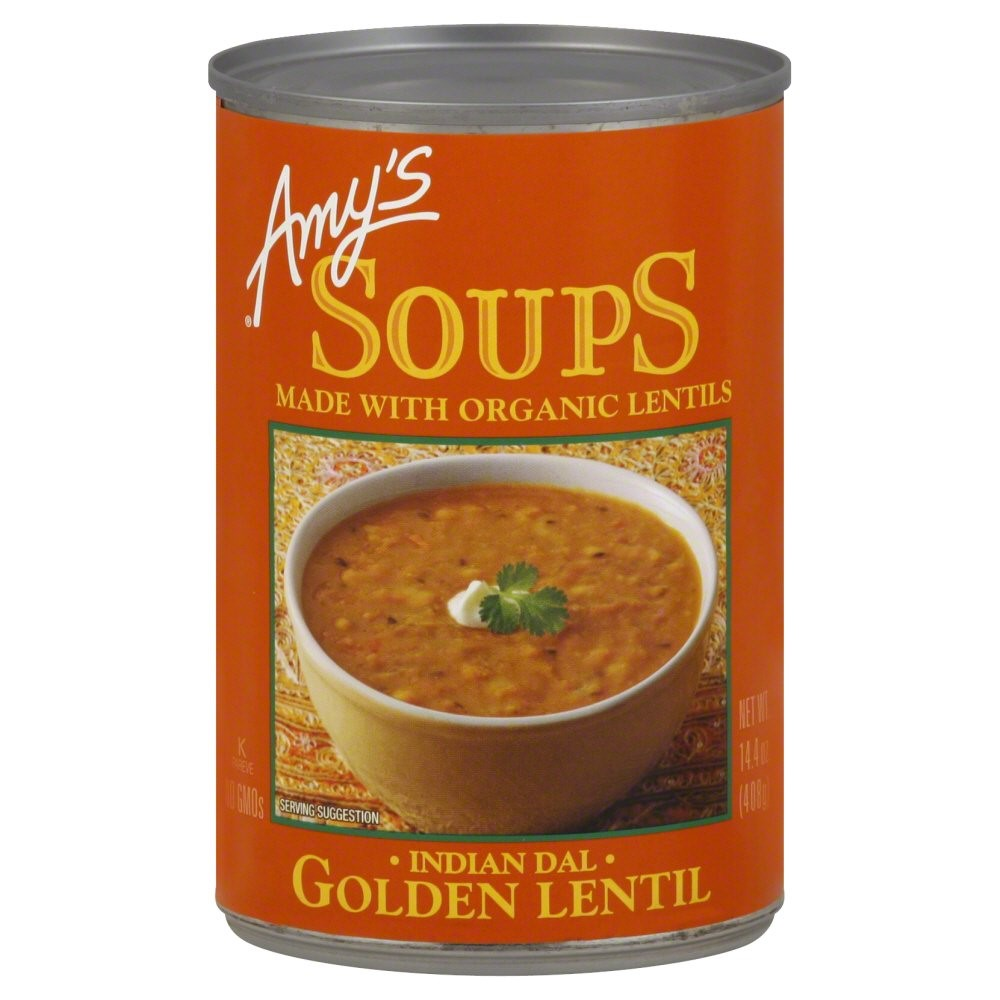 Amy's Soups, Golden Lentil (Indian Dal), 14.4 Ounce by Amy's Kitchen Inc