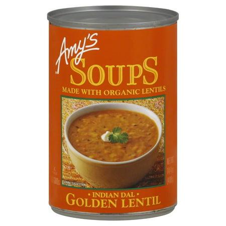 Amy's Soups, Golden Lentil (Indian Dal), 14.4 Ounce
