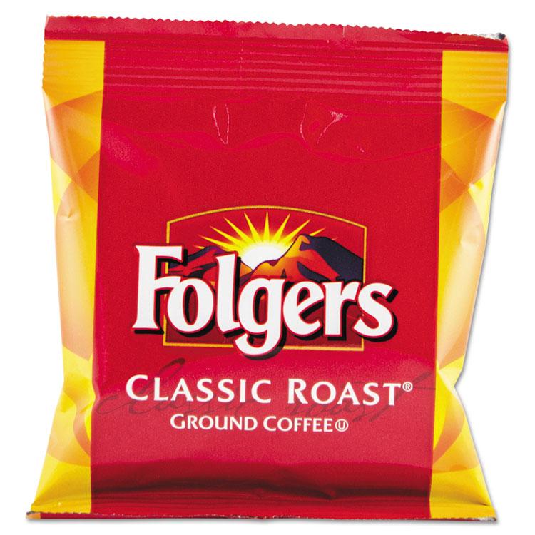Folgers Coffee, Fraction Pack, Classic Roast, 1.5oz, 42/c...