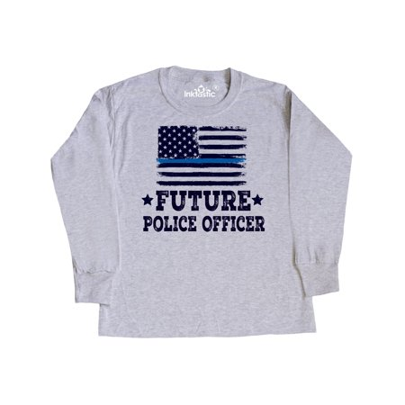 Future Police Officer Law Enforcement Youth Long Sleeve T-Shirt