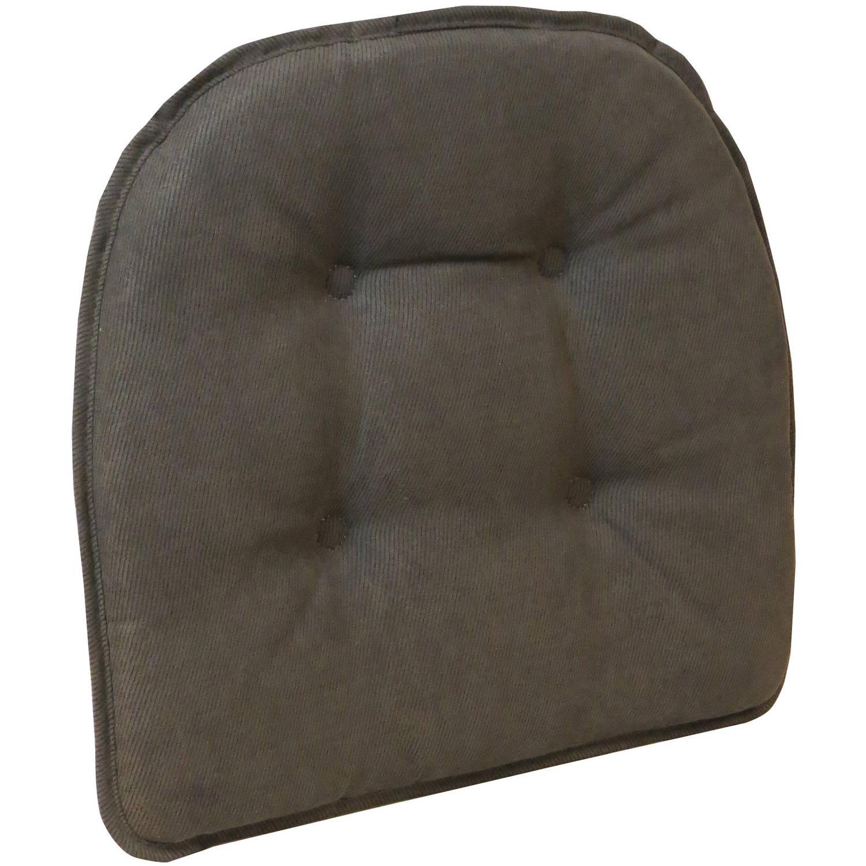 """Gripper 15"""" x 16"""" Non-Slip Nouveau Tufted Chair Cushion, 1 Each"""