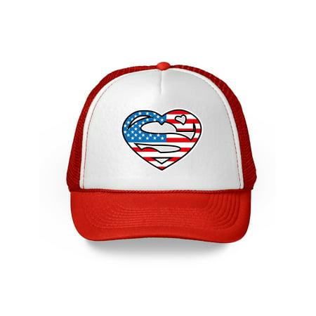 Awkward Styles American Flag Hat for Men Women USA Flag Hat 4th of July Gifts American Flag Hat USA Baseball Cap Patriotic Hat American Flag Men Women 4th of July Hat 4th of July Accessories - 4th Of July Baseball Hats