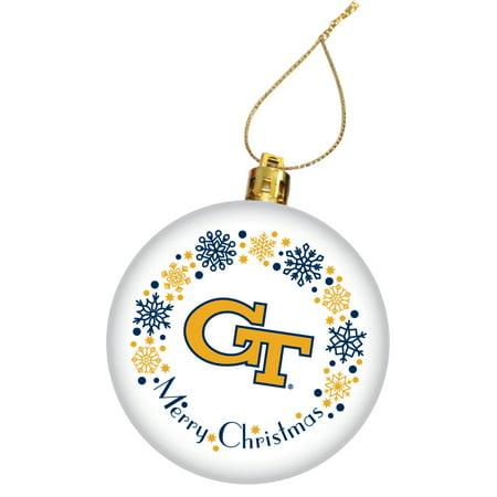 - Georgia Tech Holiday Christmas Ornament - Walmart.com