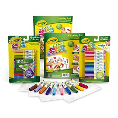 Crayola Color Wonder Mess Free Coloring, No Mess Markers And Paper ...
