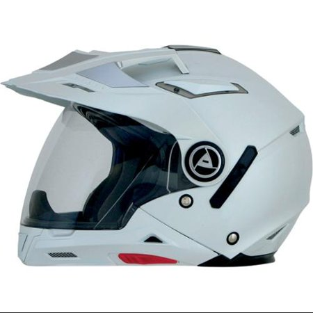 AFX FX-55 7-in-1 Solid Full Face Helmet Pearl White XS