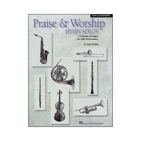 Hal Leonard Praise & Worship Hymn Solos - 15 Hymns Arranged for Solo  Performance Piano Accompaniment