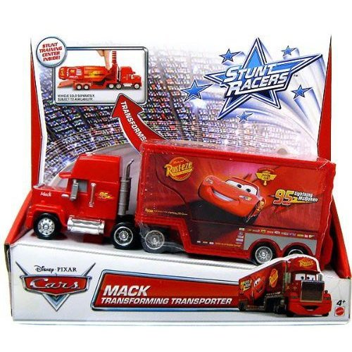 Disney Cars Stunt Racers Transforming Transporter, Mack