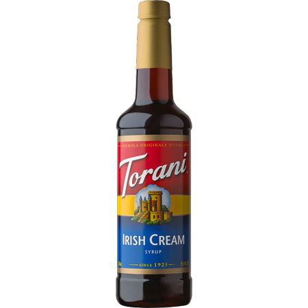 Torani Irish Cream Syrup 750ml