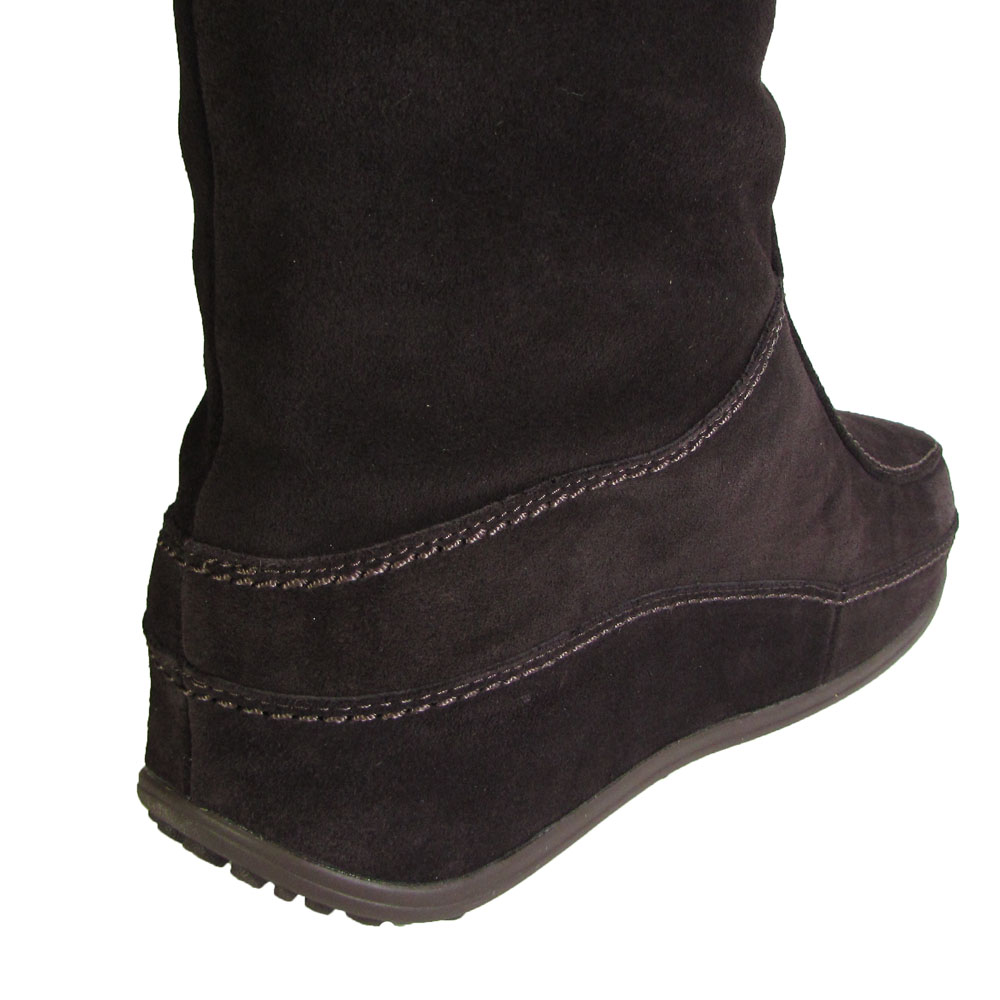 Fitflop Womens Superfringe Mukluk Knee-High Suede Boot Shoe