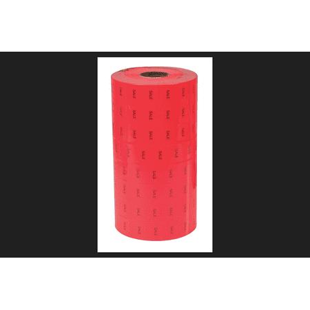 1 Line Sale Label Fits Monarch 1131 Handheld Price Labeler Red/Black 8
