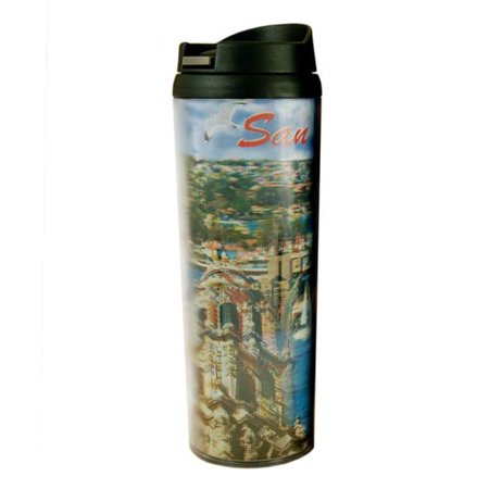 Americaware SATSDC01 San Diego Full Color Lenticular Tumbler San Diego Chargers Nfl Tumbler