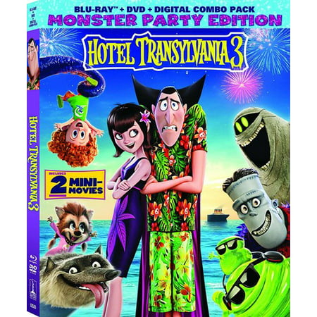 Hotel Transylvania 3: Summer Vacation (Blu-ray + DVD + Digital - Halloween H20 Blu Ray Uk