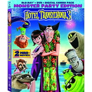 Hotel Transylvania 3: Summer Vacation (Blu-ray + DVD + Digital Copy)