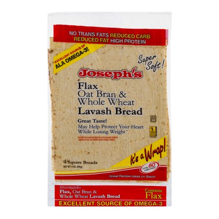 - Joseph's Bakery Lavash Bread, Low Carb, 4 sheets, 9 oz
