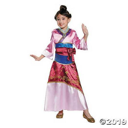 Kids Mulan Costume (Toddler Girl's Deluxe Disney® Mulan Costume -)