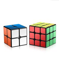 GLiving Cube Set of 2x2x2 3x3x3 Cube Infinite Decompression Fingertip Cube Decompression Artifact Infinity Block Magic Cube Anti Anxiety Stress