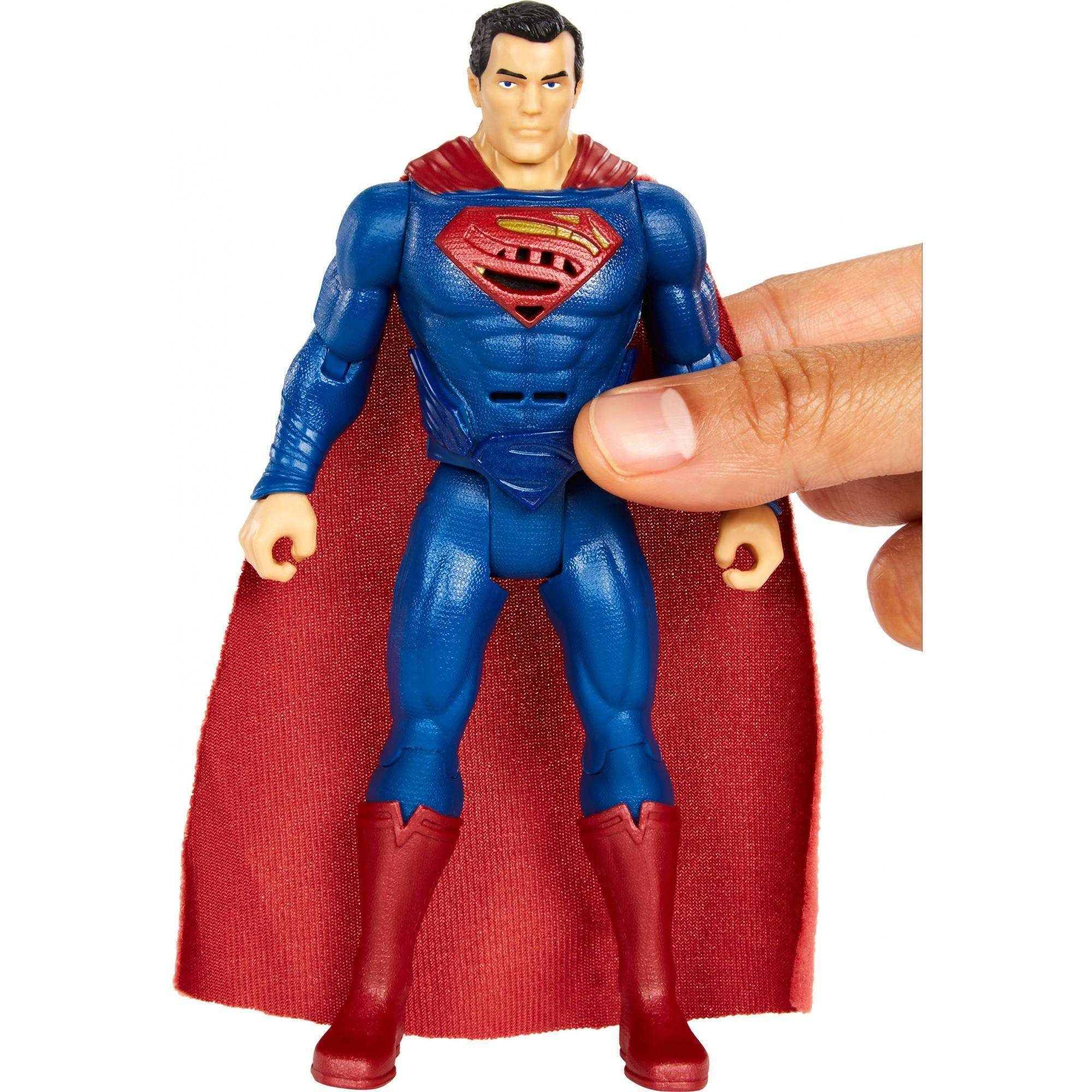 "DC Justice League Talking Heroes Superman 6"" Figure"