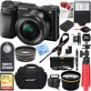 Sony Alpha a6000 24.3MP Wi-Fi Mirrorless Digital Camera + 16-50mm Lens Kit (Black) +64GB SD Card + DSLR Photo Bag + Extra Battery+Wide Angle Lens+2x Telephoto Lens+Flash+Remote+Tripod Executive Bundl E12SNILCE6000LB CAMERA INCLUDES:Sony Alpha A6000 Mirrorless Digital Camera16-50mm f/3.5-5.6 OSS Alpha E-mount Retractable Zoom LensNP-FW50 Lithium-Ion Rechargeable Battery (1080mAh)AC Adapter AC-UB10Micro USB CableLimited 1-Year Sony Authorized Dealer WarrantyBUNDLE INCLUDES:Large Gadget Bag for SLR Digital CamerasC1300 Bridge Camera Hard CaseSandisk Ultra SDXC 64GB UHS Class 10 Memory Card, Up to 80MB/s Read SpeedInfoLithium H Series NP-FW50 Spare Battery Pro .43x Wide Angle Lens w/ MacroPro 2x Telephoto Lens Converter 40.5mm UV, Polarizer & FLD Deluxe Filter kit (set of 3 + carrying case)40.5mm/58mm Step-up ringCorel PaintShop Pro X9 Digital Download12-inch Rubberized Spider Tripod, LargeWireless Shutter Release Remote ControlBounce Zoom Slave Flash Enha ...