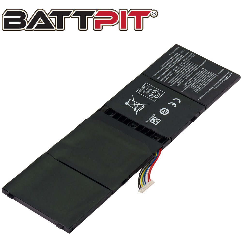 BattPit: Laptop Battery Replacement for Acer Aspire V5-552-8677, AP13B3K, AP13B8K