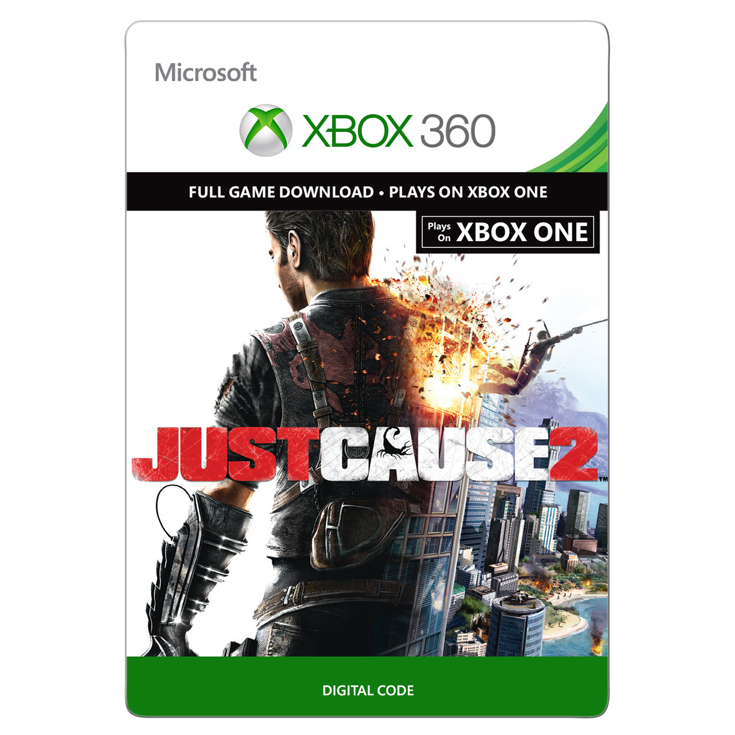 Xbox 360 Just Cause 2 (Email Delivery)