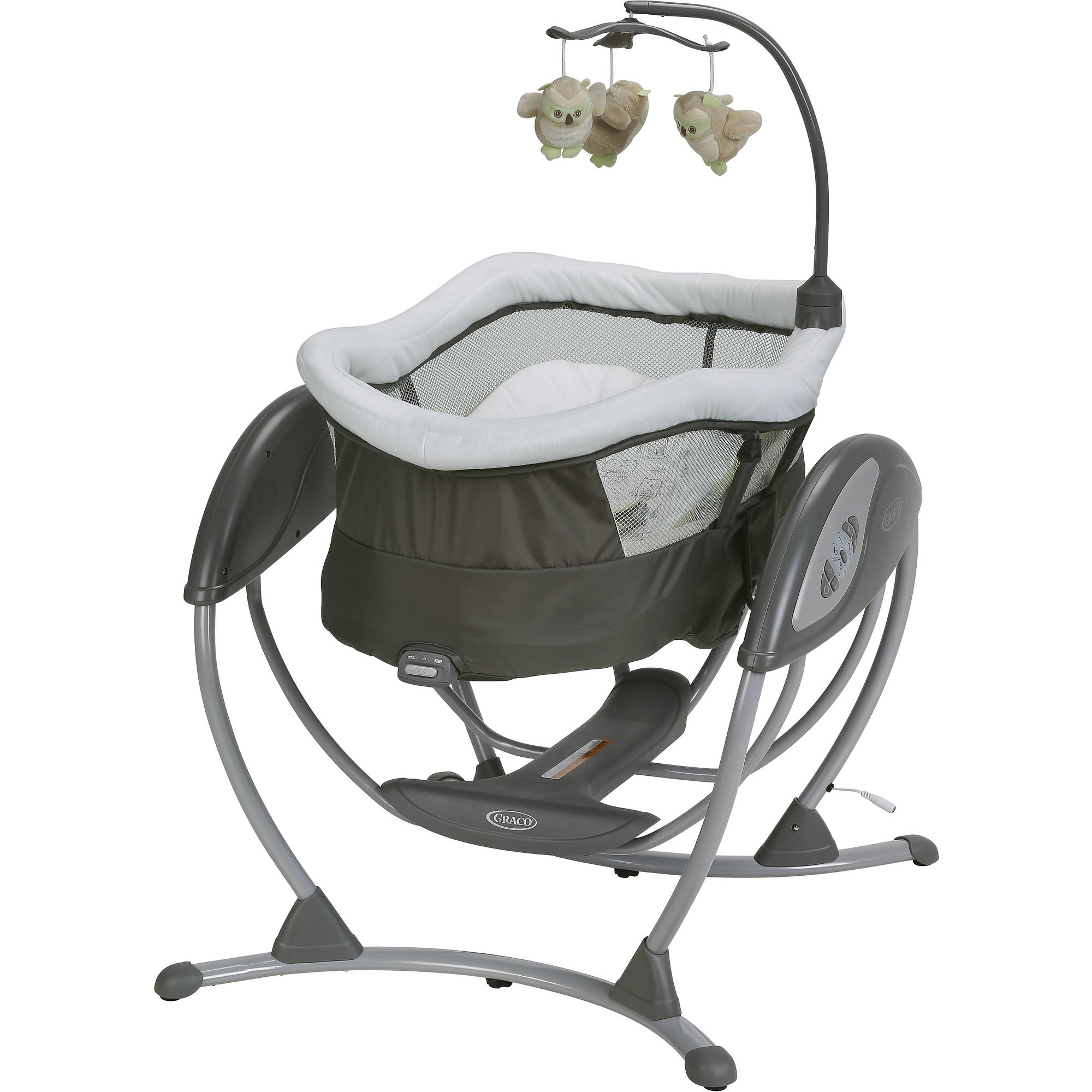 Graco DreamGlider Gliding Swing and Sleeper Baby Swing, Percy