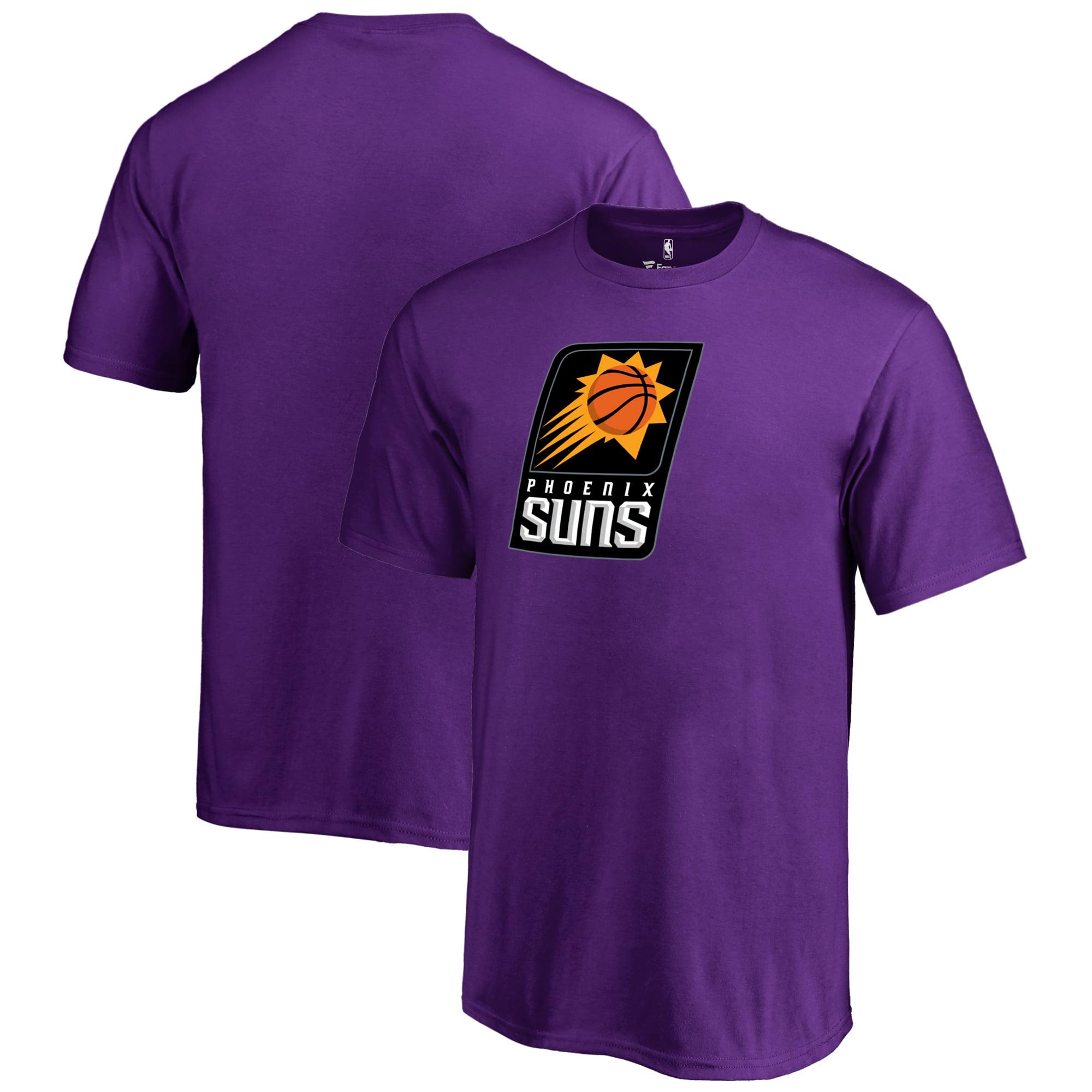 Phoenix Suns Fanatics Branded Youth Primary Logo T-Shirt - Purple