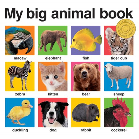 My Big Animal Book (Board Book) (Name An Animal With A Big Mouth)