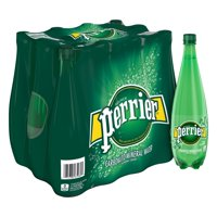 ba5543d0df Product Image Perrier Carbonated Mineral Water, 33.8 fl oz. Plastic Bottle  (12 Count)